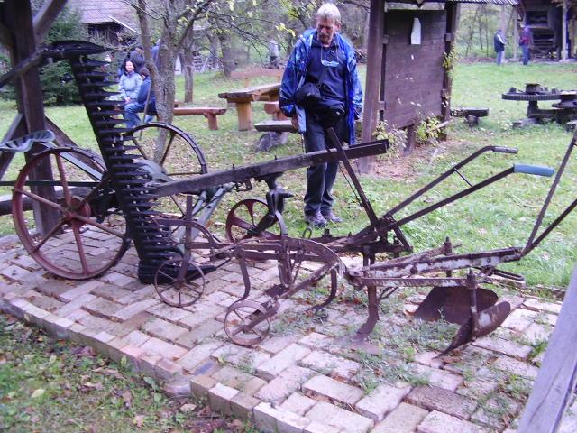Gyuri az É.Kovács múzeumban