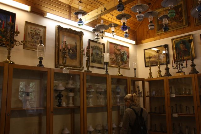 múzeumban